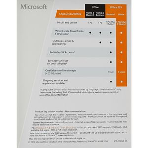 Microsoft Office 365 Home Subscription 5 PC 1 Year Price in India