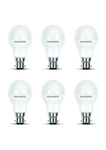 Halonix Photon Plus 9W B22 LED Bulb (Cool Day Light, Pack of 6) Price in India