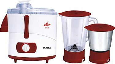 Inalsa Krish 500W Juicer Mixer Grinder (2 Jars) Price in India