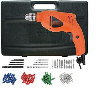 Black & Decker HD400KA50 500W Impact Drill Kit (75 Accessories) Price in India