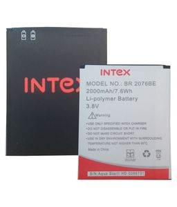 Intex Aqua Star 2 HD 2000mAh Battery Price in India