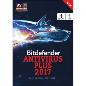 Bitdefender Total Security 2017 1 PC 1 Year Anitvirus (Key) Price in India