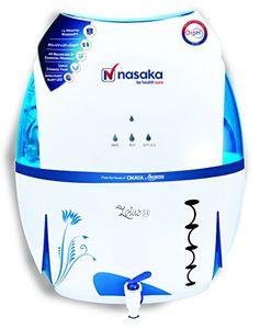 Nasaka Lotus S1 13L RO UV UF LED ORPH Water Purifier Price in India