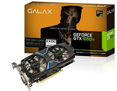 Galax GeForce GTX 1050 Ti EXOC DDR5 Graphic Card Price in India