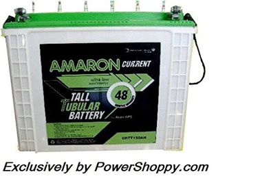Amaron CR150TT 150 Ah Tall Tabular Battery Price in India
