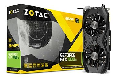 Zotac GeForce GTX 1080TI AMP Edition 11GB DDR5 Graphic Card Price in India