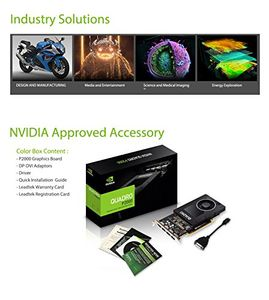 Leadtek Nvidia Quadro P2000 5GB DDR5 Graphic Card Price in India