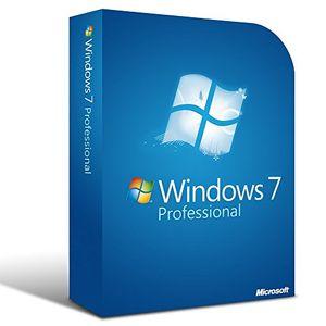 Microsoft Windows 7 Professional 64 Bit/32 Bit (Key) Price in India