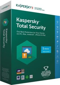 Kaspersky Total Security 2017 1PC 3 Year Antivirus Price in India