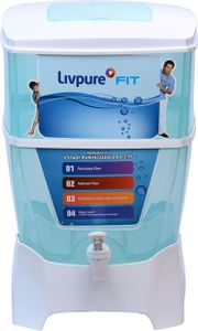 Livpure Fit 9L Gravity Based Water Purifier Price in India