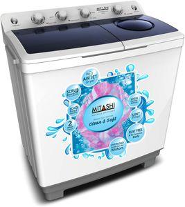 Mitashi 9.8 Kg Semi Automatic Washing Machine (MiSAWM98v25 AJD) Price in India