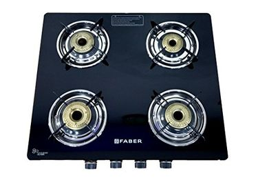 Faber Splendor 4 Burner Glass Top Gas Stove Price in India