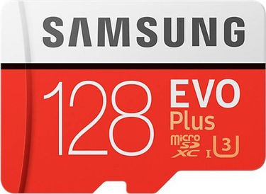 Samsung EVO Plus 128GB MicroSDXC Class 10 (100MB/s) Memory Card (With Adapter) Price in India