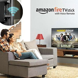 Amazon Fire TV Stick Streaming Media Player (With Voice Remote) Price in India