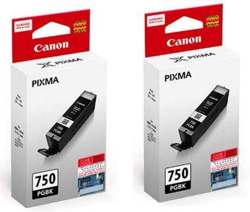 Canon Pixma 750 Black Ink Cartridge (Twin Pack) Price in India