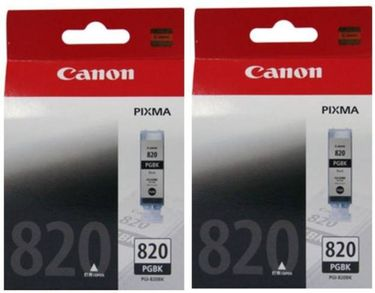 Canon Pixma 820 Black Ink Cartridge (Twin Pack) Price in India