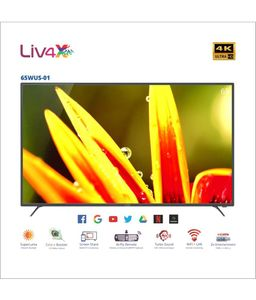 Wybor 65WUS-01 65 Inch 4K Ultra HD Smart LED TV Price in India