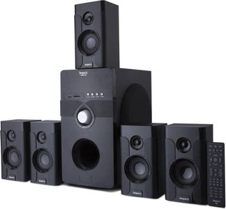 c9d2248d9 Impex VIBRATO 5.1 Channel Multimedia Speaker Price in India