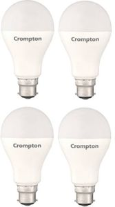 Crompton 18W Standard B22 1800L LED Bulb (White,Pack of 4) Price in India