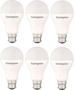 Crompton 18W Standard B22 1800L LED Bulb (White,Pack of 6) Price in India