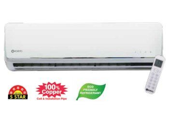 Koryo WSKSIAO1812A5S 1 Ton 5 Star Split Air Conitioner Price in India