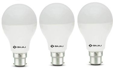 Bajaj Corona 12W Standard B22 1200L LED Bulb (White,Pack of 3) Price in India