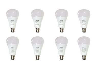 Opple 14W Round B22 1400L LED Bulb (Yellow,Pack of 8) Price in India