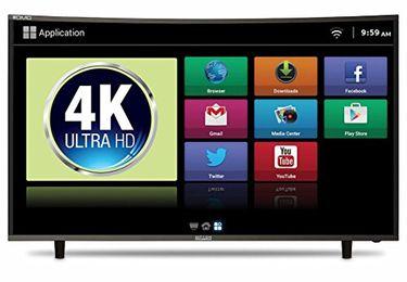 Mitashi MiCE050v34 49 Inch 4K Ultra HD Curved Smart LED TV Price in India