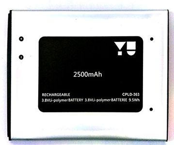 Micromax 2500mAh Battery (For Yu yureka) Price in India