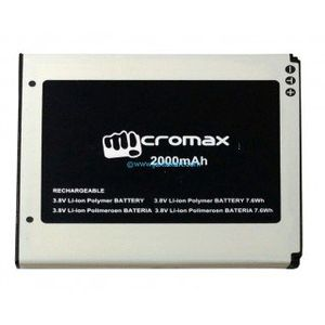 Micromax 2000mAh Battery (For Q400) Price in India