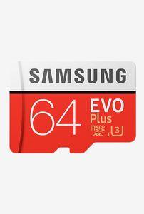 Samsung EVO Plus (MB-MC64GA/IN) 64GB Class 10 (100MB/s) Memory Card Price in India