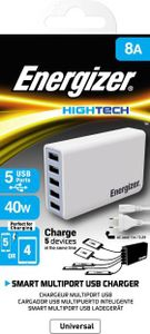 Energizer (USA5DEUHWH5) 40W 5 Port USB Station Price in India