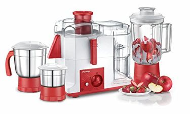 Prestige Platina 550W Juicer Mixer Grinder (3 Jars) Price in India