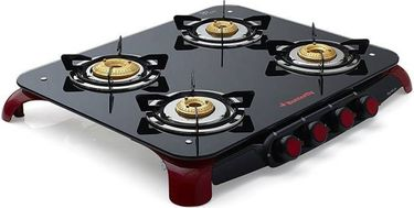 Butterfly Signature 4 Burner Glass Manual Gas Stove Price in India