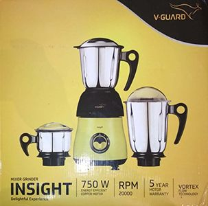 V-Guard Insight 750W Mixer Grinder (3 Jars) Price in India