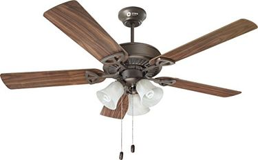 Orient Electric Under Light Wood Wind 5 Blade (1300mm) Ceiling Fan Price in India