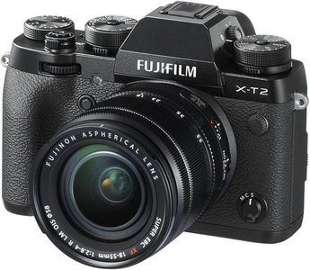 Fujifilm XT2 DSLR (With 18-55 mm Lens) Price in India