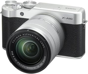 Fujifilm X-A10 DSLR (With 16-50 mm Lens) Price in India