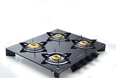 Butterfly Prism Gas Cooktop (4 Burner) Price in India