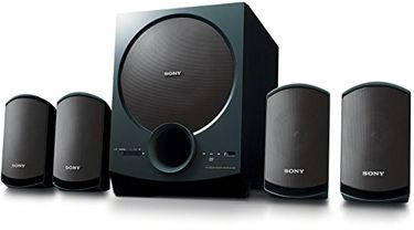 Sony SA-D40 4.1 Channel Multimedia Speakers Price in India