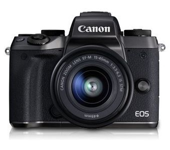 Canon EOS M5 Mirrorless Camera (15-45mm Lens Kit) Price in India