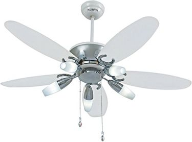 Surya Aero Lite 5 Blade (1200mm) Ceiling Fan Price in India