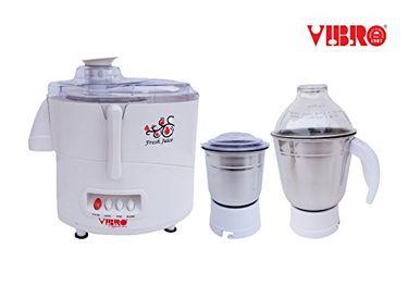 Vibro Elegance 2016 450W Juicer Mixer Grinder (2 Jars) Price in India