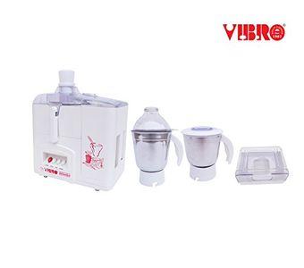 Vibro MV-2001 550W Juicer Mixer Grinder (2 Jars) Price in India