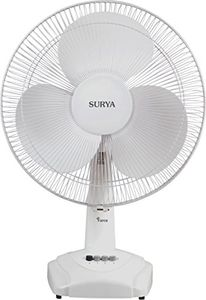 Surya Force 3 Blade (400mm) Table Fan Price in India