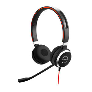 Jabra Evolve 40UC Duo Over the Ear Headset Price in India