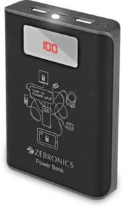 Zebronics (ZEB-PG10000D) 10000mAh Power Bank Price in India