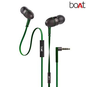 Boat Bass Heads 225 In-Ear Headphones with Mic Price in India