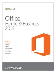 Microsoft Office Home and Business 2016 1 PC Windows (Key Only) Price in India