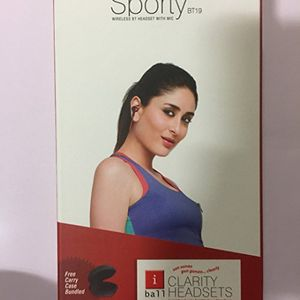 IBall Musi Sporty BT19 In the Ear Wireless Headset Price in India